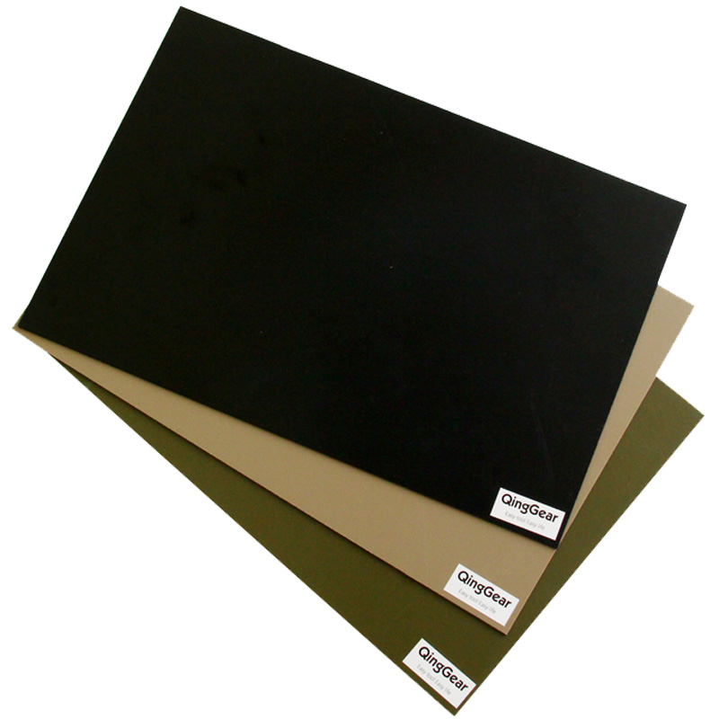 3PCS/LOT Super Tough Durable Kydex Sheet Great For Knife sheaths Gun Holsters 1.5mm Black Sand Army Green