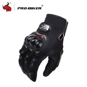 Image 2 - PRO BIKER Motorcycle Gloves Men Motocross Gloves Full Finger Riding Motorbike Moto Gloves Motocross Guantes Gloves M XXL