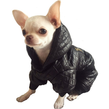 Waterproof Small Pet Dog Clothes Winter Jumpsuit Four Leg Hoodie Coat Jacket Overalls Chihuahua Yorkie Puppy Clothing