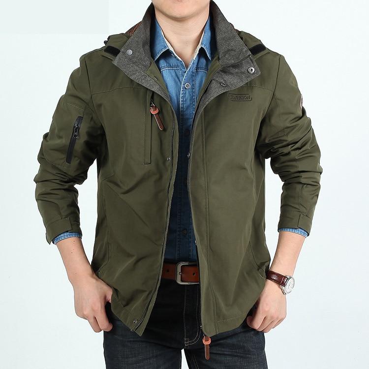 Simwood Jaqueta Masculina плюс Размеры Для мужчин куртка и пальто осень и Весенние жакеты и пальто Повседневное пальто Макси верхняя одежда 04