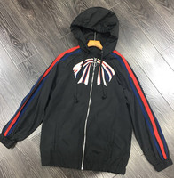High quality embroidery hoodie Jackets New 2018 spring summer women sun proof Jackets S428