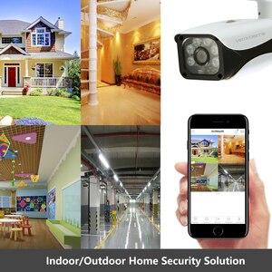 Image 5 - Home Überwachung AHD Kamera 4MP Wasserdichte Outdoor CCTV Kamera Mit 6PCS ARRAY IR LED ONVIF E mail Alarm nachtsicht 3,6mm objektiv