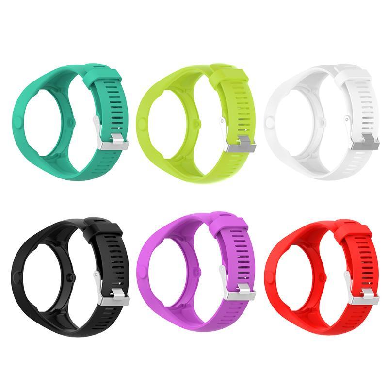 1 piezas reemplazo Correa banda de reloj inteligente pulsera bandas Loop con hebilla Accesorios inteligentes para Polar M200