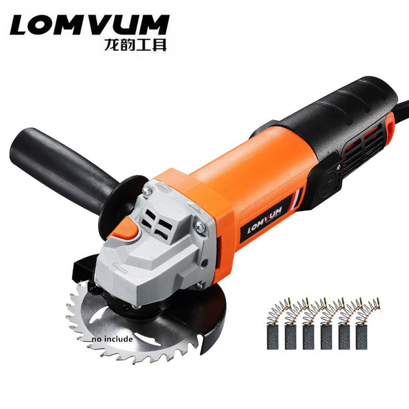 Angle Grinder Professional Cutting Polishing Wood Metal Grinding Machine Electric Hand Mill Polishing Machinist power tool