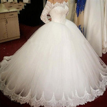 SexeMara Vintage Tulle Ball Gowns Wedding Dresses