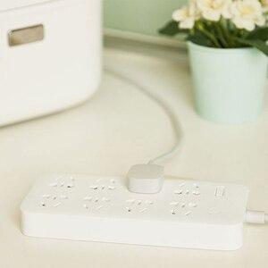 Image 5 - Neue Xiaomi Mijia keine usb Power Streifen 3 6 8 Ports stecker Buchse Power on/off 2500 Watt 10A überlastschutz für office home mihome