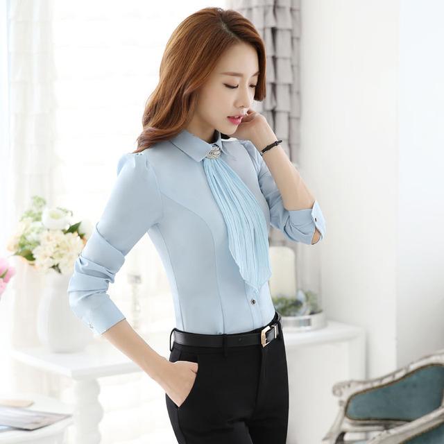 Novidade Azul Fino Forma Formal Ternos de Trabalho Com Tops E Calças Calças Das Senhoras Das Mulheres Conjunto Profissional de Negócios Ternos Calças