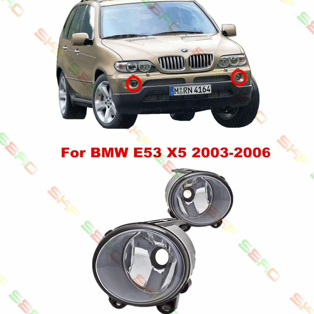 For BMW E53 X5  2003/04/05/06  car styling fog lights FOG LAMPS  1 SET for mercedes benz w163 1998 99 2000 01 02 03 04 05 car styling fog lights 1 set