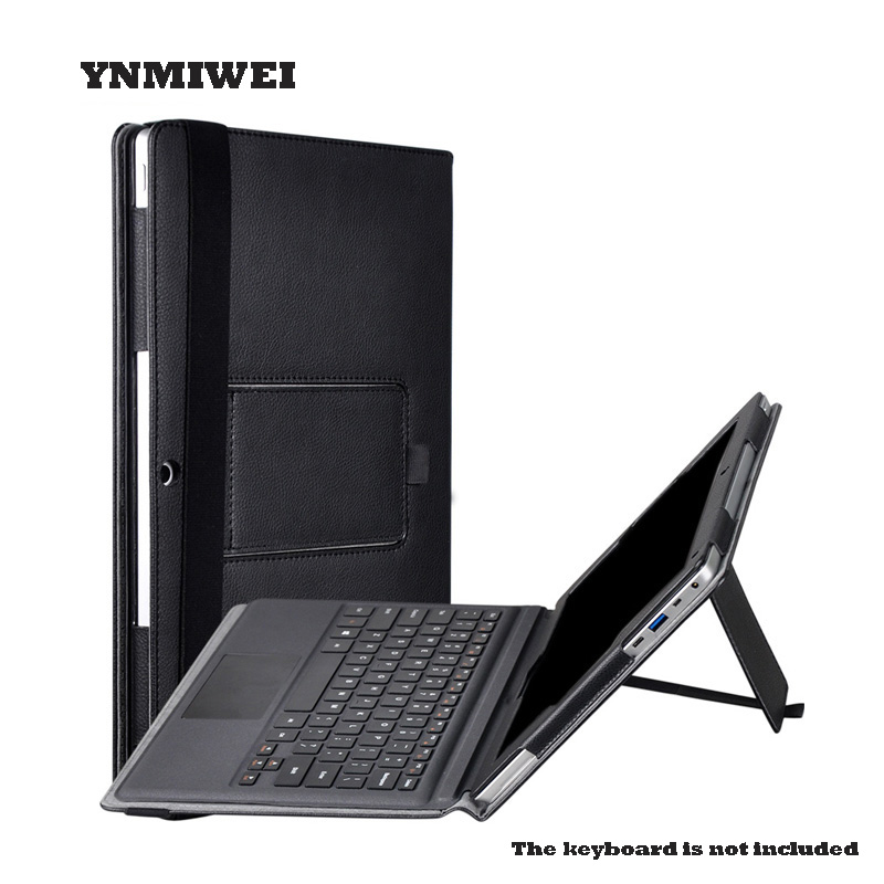 Tableta para Teclast X5 Pro 12.2 pulgadas cuero Pu Folio Flip Stand Holder Shell caso cubierta de la pantalla teclado protector Shell