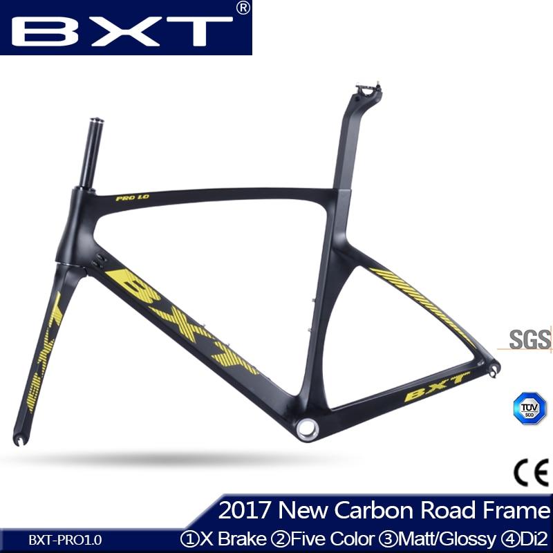 2016 TOP NEW T800 Full Carbon Road Frame Bike Racing Bicycle Frameset Accept Custom Logo Size