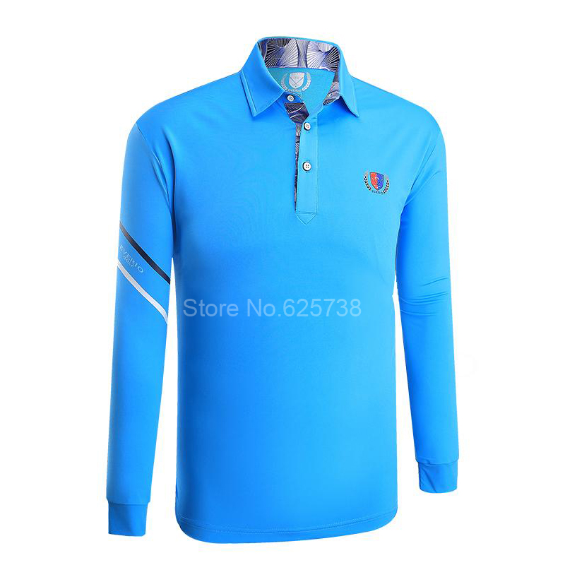2017 New Golf shirts sport tops clothing golf Shirt long Sleeved mens clothing summer fast dry Free shipping