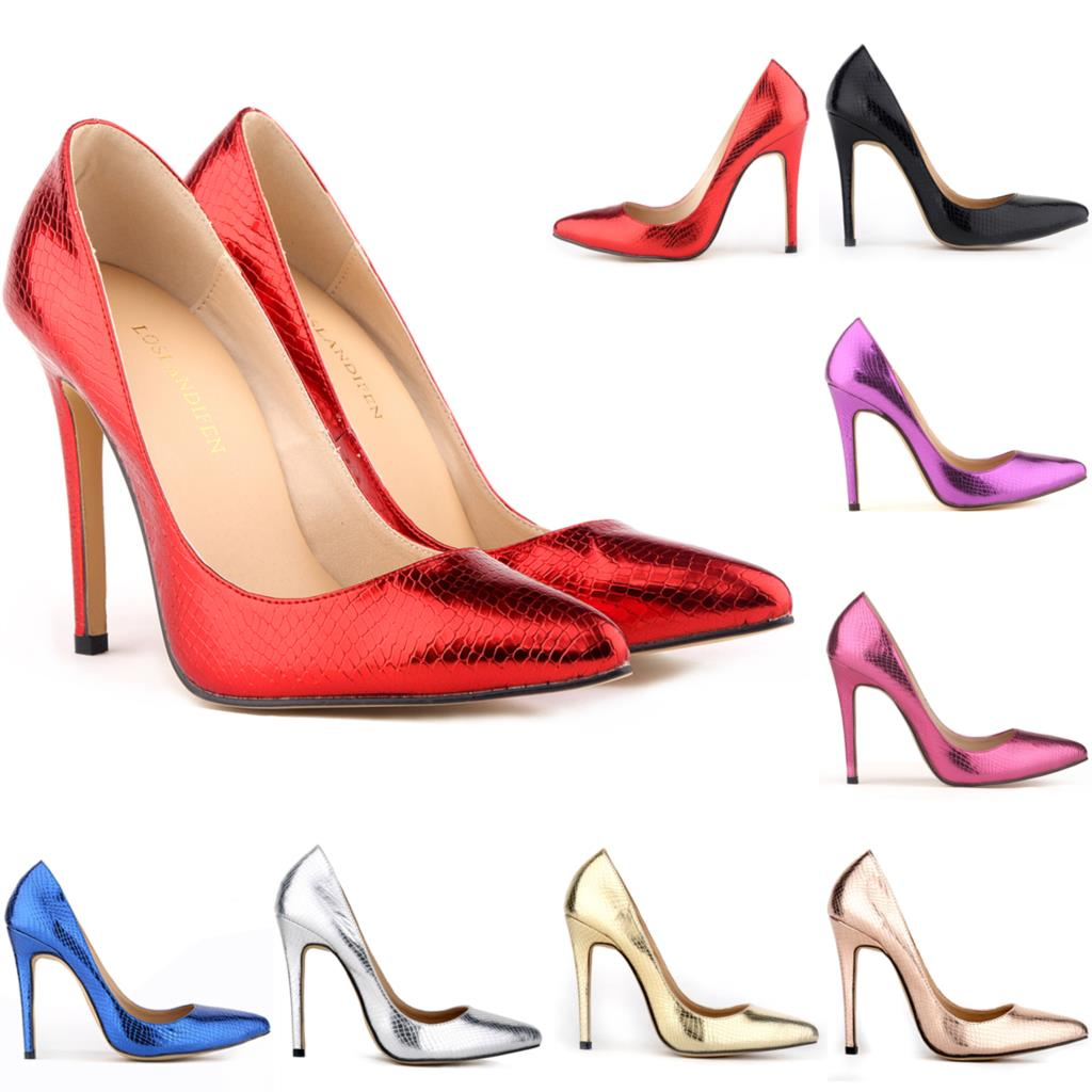 NEWS Crocodile Pattern High Heel Stilettos Platform Pumps Wedding ...  Purple Wedding Shoes Size