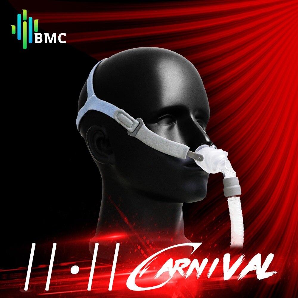 BMC P2 Nasale Oreillers Masque Masque de Sommeil Léger pour CPAP Médicale Machines Acheter Un en Obtenir S/M/L trois Taille Coussins