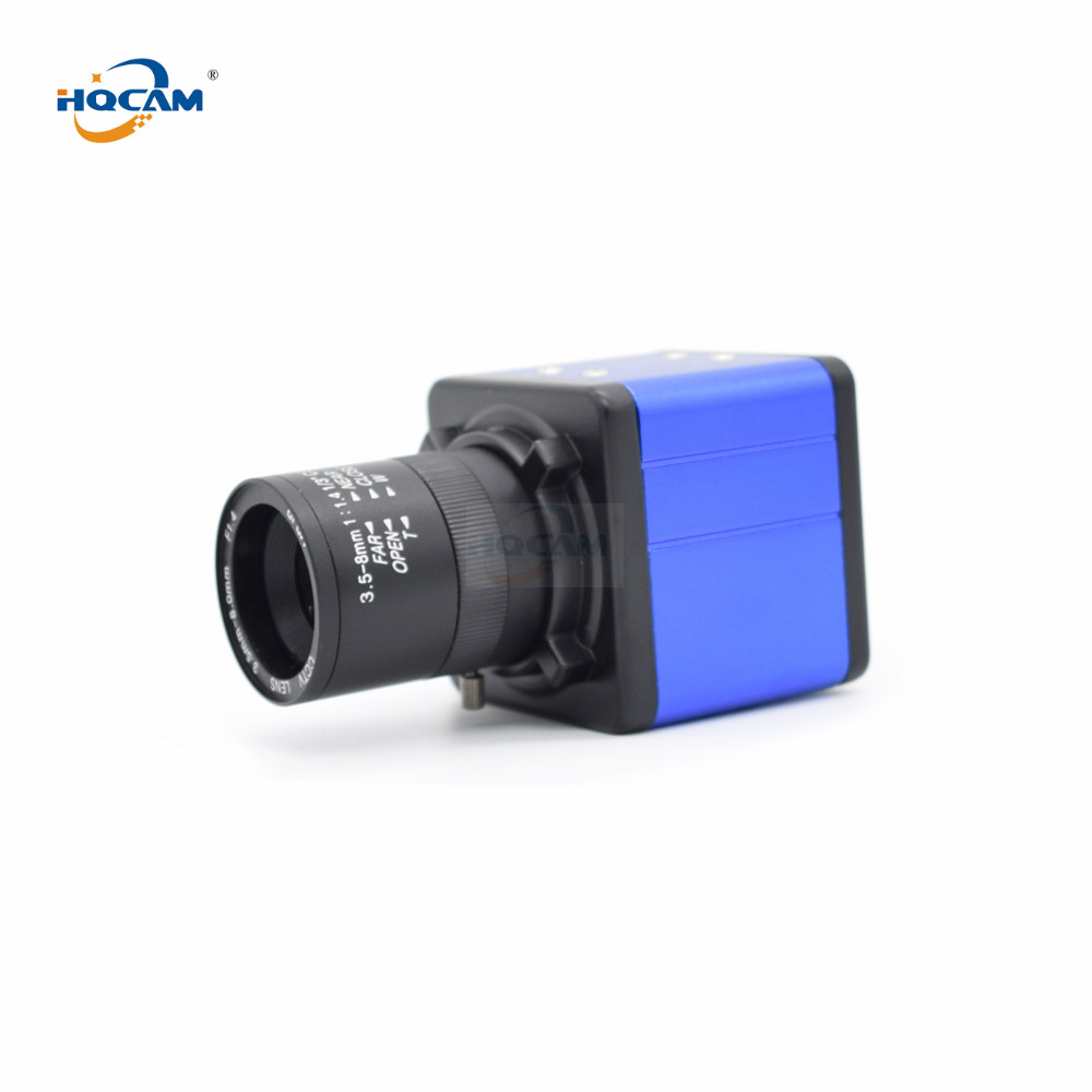 HQCAM 1080 P Wifi Audio IMX323 + HI3516C petite MINI caméra web CCTV caméra MINI caméra IP 3.5-8mm zoom varifocale manuel lenn
