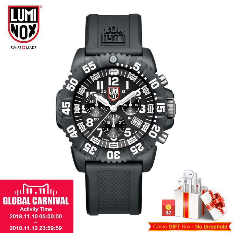Luminox Made in Switzerland A.3081 XS.3081 A.3081.BO XS.3081.BO Military outdoor waterproof colorful luminous quartz men's Watch все цены