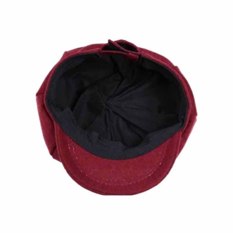 เด็ก Boy Girl Beret หมวกโดมหมวกแปดเหลี่ยมเบสบอล Casquette หมวกเด็ก