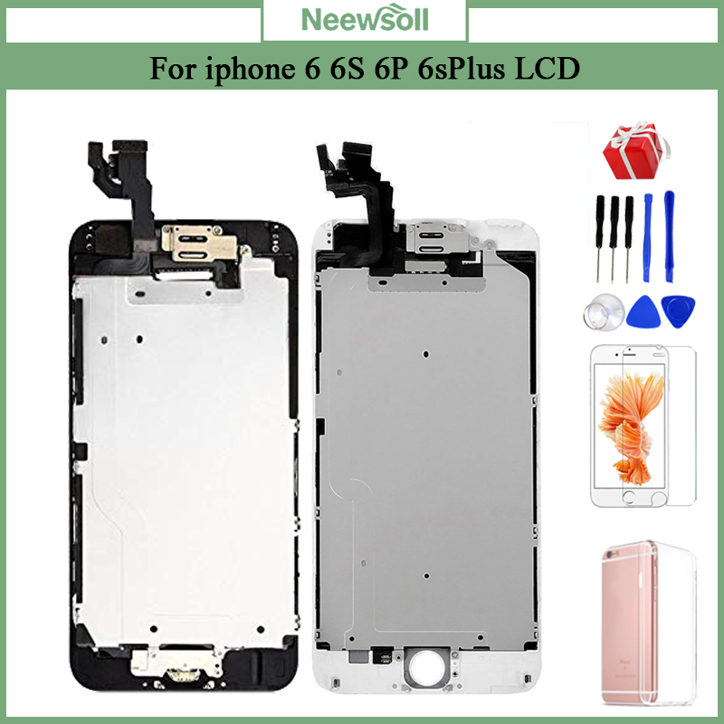 For IPhone 6 6Plus 6S Plus LCD AAA+++ Full Assembly Complete 100% With 3D Force Touch Screen Replacement Display No Dead Pixel