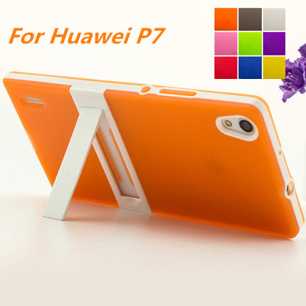 Ultra tenký rám počítače Huawei P7 Soft Case Cover TPU Silikon - Příslušenství a náhradní díly pro mobilní telefony