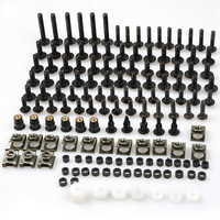 Uniwersalny Aluminium akcesoria Motocyklowe Fairing Bolt Śruby Łączników Mocowania dla bmw x1 Fulmine fulmine 98-02 m1 97 98 m2 cycl