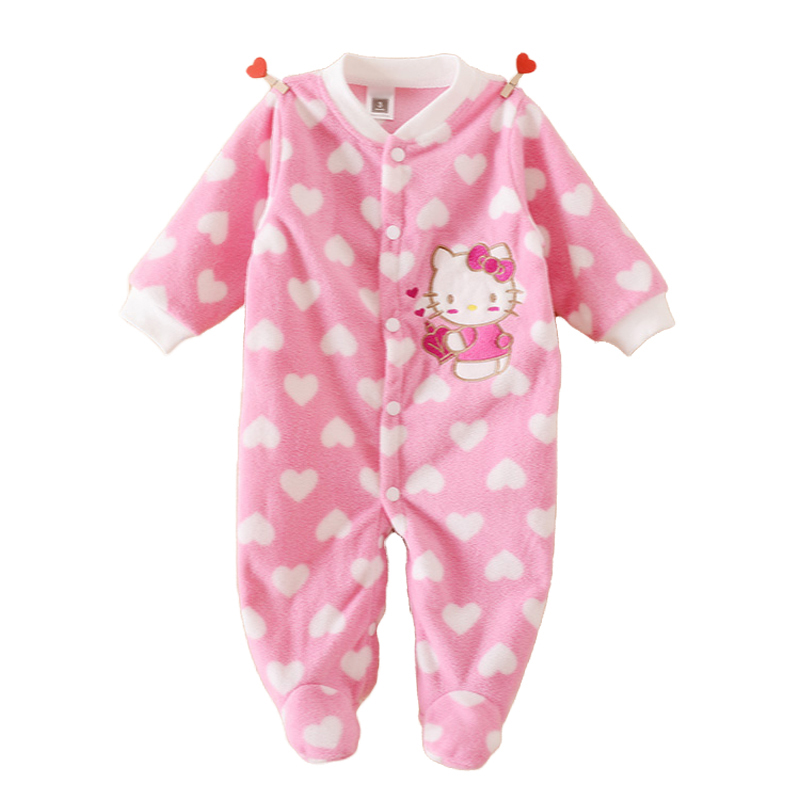 Newborn Baby Clothing Boy Girl Footed Rompers Animal Baby