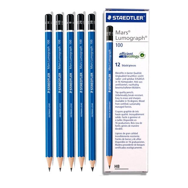 staedtler pencil 100 blue rod drawing pencil sketch pencil in
