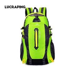 Wasserdichte Nylon Bergsteigen Rucksack Rucksack Bergsteigenbeutel männer Reisetaschen rucksack Rucksack tasche pack