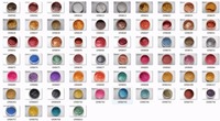 64 different Colors Natural Cosmetic Pearl Pigment Mica Powder Safe to use for Lipstick,Makeup,Eyeshadow,Soap