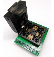 QFP64 LQFP64 TQFP64 Burn Socket Adapter Test Burning Seat Connector 0 5mm STM32 Programmer