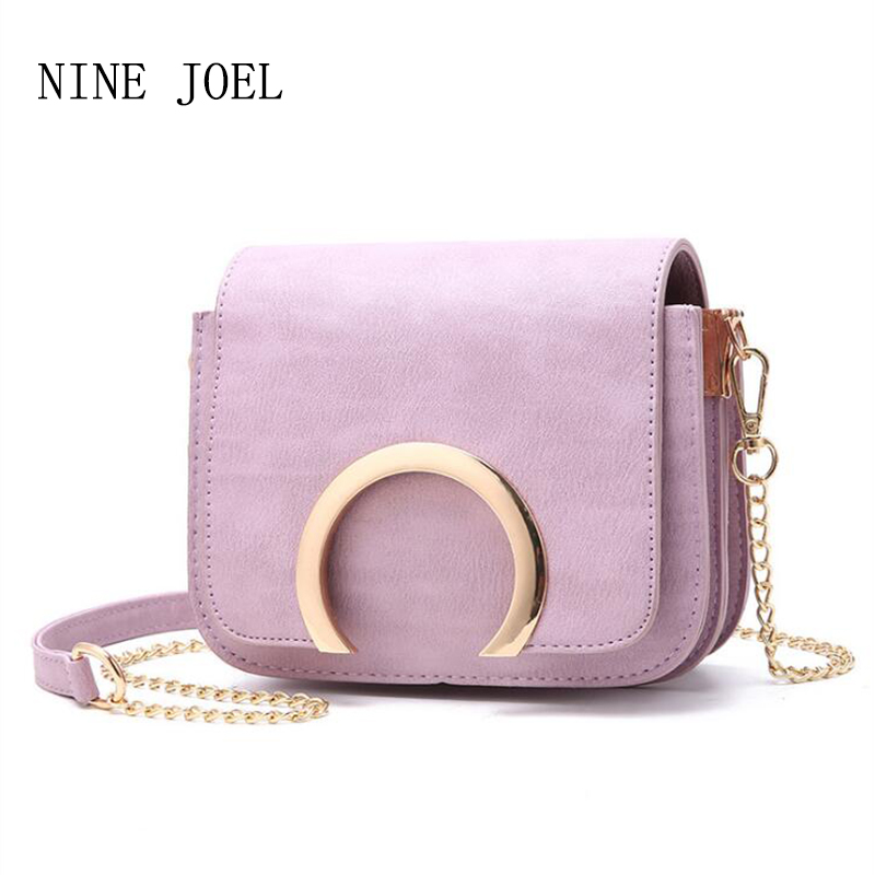 2018 Popular Purple Women Bag Fashion Women Messenger Bags Chain Shoulder Bag High Quality PU Leather Crossbody Luxury Brand Hot deep purple deep purple stormbringer 35th anniversary edition cd dvd