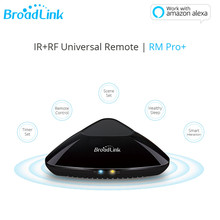 все цены на IR RF Hub Works Alexa Broadlink RM Pro Smart Home Wi-Fi Enabled Infrared Universal Remote Control 433mhz 315 One for All Control онлайн
