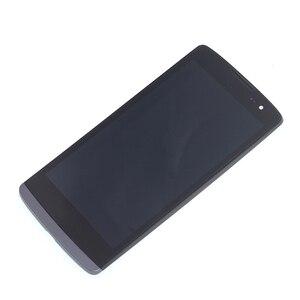 Image 3 - الأصلي LCD ل LG ليون H340 h320 h324 H340N H326 MS345 C50 شاشة إل سي دي باللمس الشاشة مع طقم تصليح الإطار استبدال + أدوات