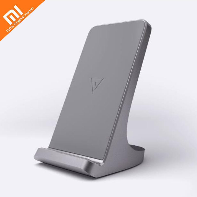 Xiaomi mijia vertical wireless charger S1 dual coil fast charge smart charging USBType-C compatible allows charging with shell