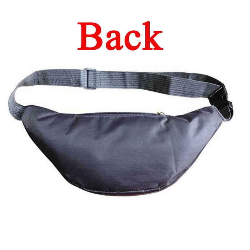 กระเป๋าใหม่ผ้าใบ Unisex Fanny แพ็คเอวสะโพกเข็มขัดกระเป๋ากระเป๋า Travel Sport Bum คุณภาพสูงกันน้ำ
