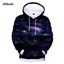 AOXUANPINDI Spring Autumn Sweatshirt Cotton O-neck Pullover print Hip Hop Long Sleeve