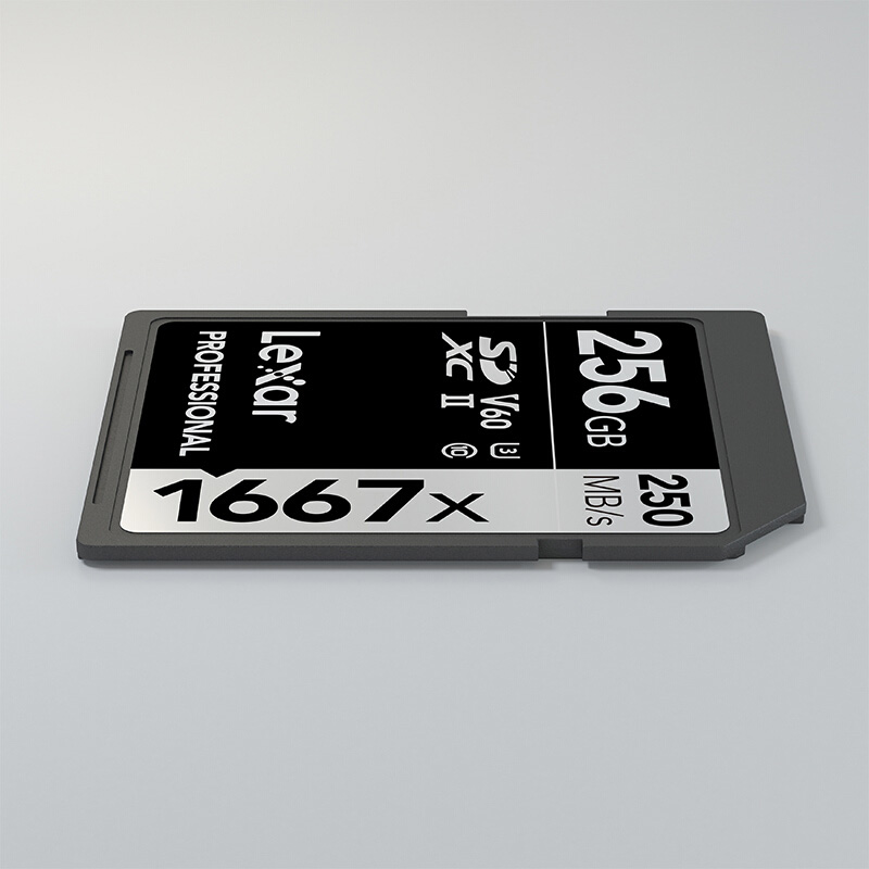 Image 5 - Original Lexar Professional SD Memory Flash Card 1667x SDXC UHS II class 10 V60 256GB kart For 1080p 3D 4K video Camera cards-in Memory Cards from Computer & Office