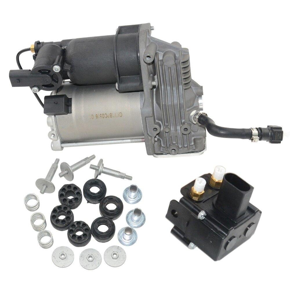 Suspensão a ar Compressor Bomba/Válvula Para BMW E70 E71 E72 OE #37226775479