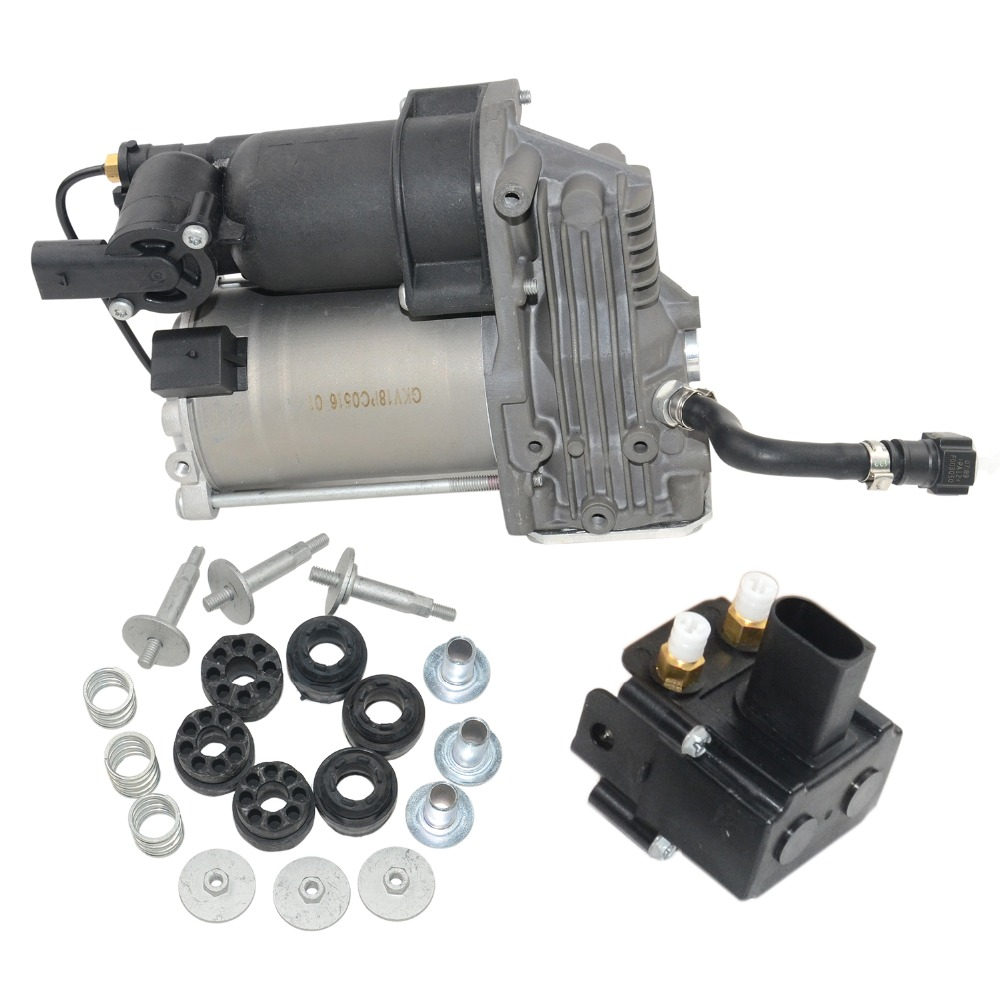 Suspension pneumatique Compresseur Pompe/Valve Pour BMW E70 E71 E72 OE #37226775479