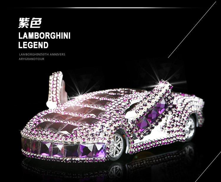High Grade Crystal Diamond Car Ornaments Car Perfume Seat Car