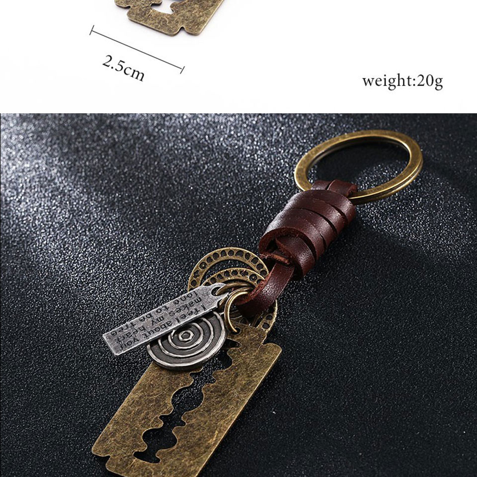 HTB14JIdfYZnBKNjSZFKq6AGOVXaI - Multiple Guitar Butterfly Pendant Suspension Leather Keychain Key Chain Charms for Keys Car Keys Accessories Keychain on a Bag