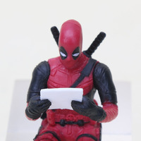 Deadpool 2 Thanos Action Figure Sitting Posture Model Mini Doll Collection Figurine Toys For Boys 7cm 1