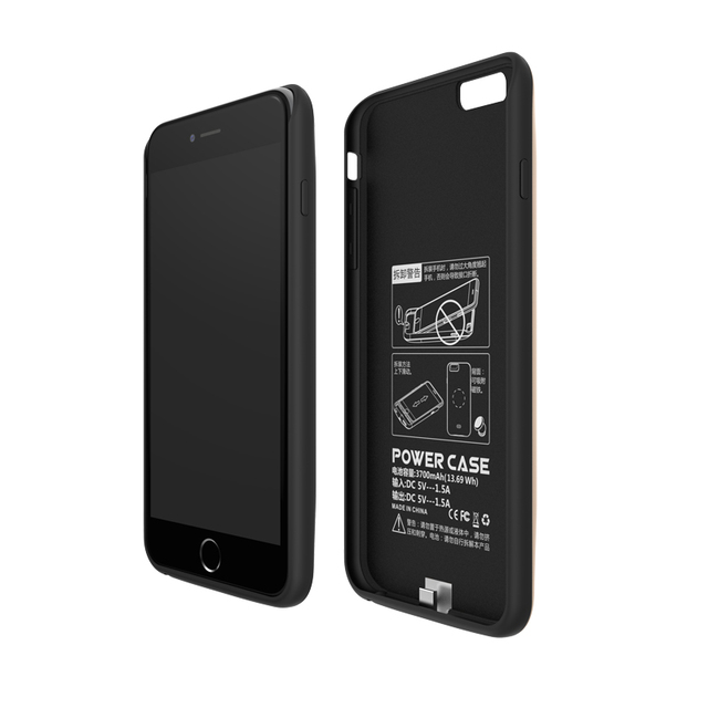 Gagaking power bank for iphone7 plus 7500mah battery charger case for Iphone 7 plus Battery case for 7 Plus power bank cases