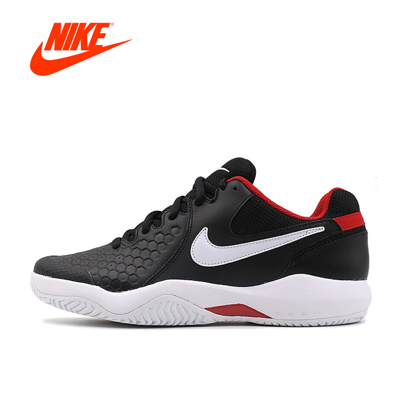 Original New Arrival Authentic NIKE AIR ZOOM RESISTANCE Mens Hard-Wearing Tennis Shoes Sports Sneakers