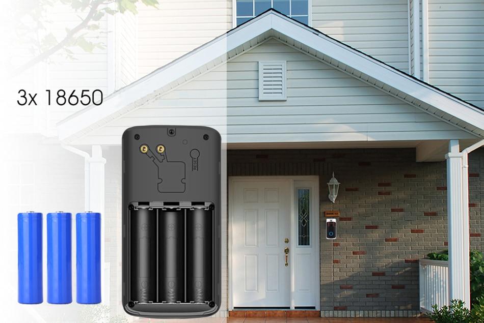 Doorbell Sonnette Vidéo Full HD 1080P  audio bidirectionnel, radar, connexion Wi-Fi