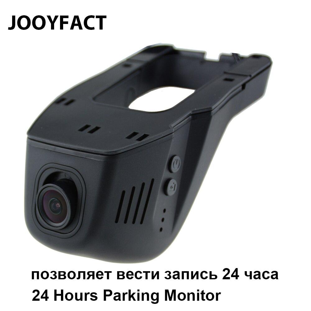 JOOYFACT A1T Auto DVR Dvr Registrator Dash Macchina Fotografica Videocamera Portatile della Camma 1080 p di Visione Notturna 24 Ore Parcheggio Monitor 96658 IMX323 wiFi