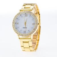 Fashion Luxury Women S Quartz Wristwatch Steel Strap Rhinestones Dress Watch Womens Bracelet Watch Relogio Feminino