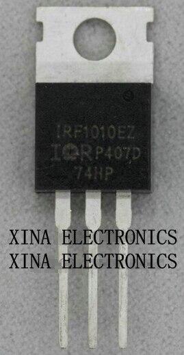 Irf1010ez Irf1010 60 V 84a Mosfet To-220 Rohs Original 10 Teile/los Kostenloser Versand Electronics Zusammensetzung Kit Leistungsschalter Elektrische Ausrüstungen & Supplies