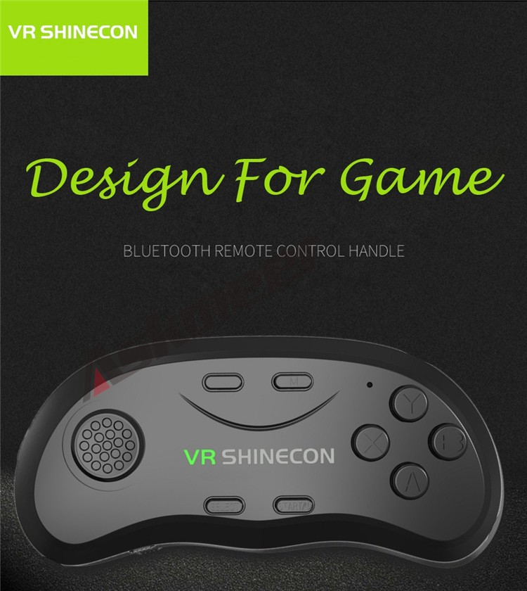 New Original VR Shinecon Bluetooth Remote Controller Wireless Gamepads Mouse Selfie Shutter 3D Game for Smartphone Tablet TV BOX (1)