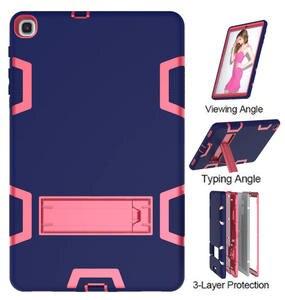 Image 2 - Tablet Case Shockproof For Samsung Galaxy Tab A 360 Protection Cover Case For Samsung Galaxy Tab A10.1 inch (2019) T510/T515