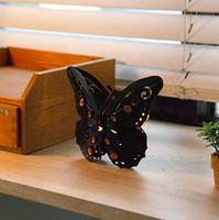 Classical Butterfly Candlestick Wedding Decoration Candle Holders Wrought Iron Candle Holder Vintage Home Decor 16*4*13cm