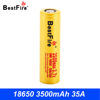 Bestfire 18650 Battery 3500mAh Li-ion Rechargeable Battery 18650 for Vape Tools Flashlight Toys Drills цена 2017